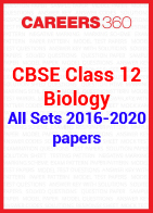 CBSE Class 12 Previous Year Paper - Biology 2016-2020 All Set