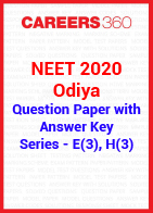 NEET 2020 Odiya Question Paper with Answer Key E(3), H(3)