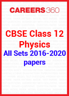 CBSE Class 12 Previous Year Paper - Physics 2016-2020 All Set
