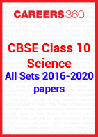 CBSE Class 10 Previous Year Paper - Science 2016-2020 All Set