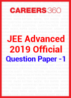 JEE Advanced 2019 Official Question Paper -1