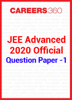 JEE Advanced 2020 Official Question Paper -1