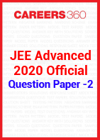JEE Advanced 2020 Official Question Paper -2
