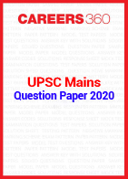 UPSC Mains Question Paper 2020