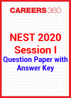 NEST 2020 Session I Question Paper with Answer Key