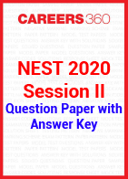 NEST 2020 Session II Question Paper with Answer Key
