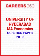 University of Hyderabad MA Economics Question Paper 2019