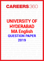 University of Hyderabad MA English Question Paper 2019