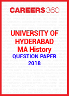 University of Hyderabad MA History Question Paper 2018