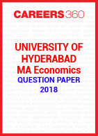 University of Hyderabad MA Economics Question Paper 2018