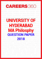 University of Hyderabad MA Philosophy Question Paper 2018