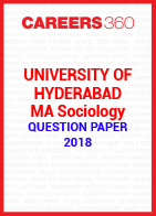 University of Hyderabad MA Sociology Question Paper 2018