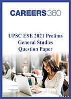 UPSC ESE 2021 Prelims General Studies question paper