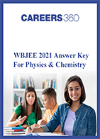 WBJEE 2021 Answer Key for Physics & Chemistry