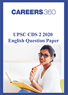 CDS 2 2020 English question paper