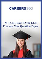 MH CET law 5-year LLB sample paper