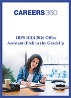 IBPS RRB Office Assistant 2016 Question Paper (Prelims) by GradeUp