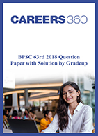 BPSC 63rd 2018 Question Paper with Solution by Gradeup