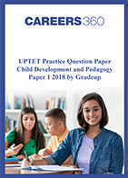 UPTET Question Papers 1 2018 - Child Development and Pedagogy