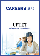 UPTET Question Paper 2 2017 - Child Development and Teaching Method