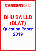 BHU BA LLB (BLAT) 2019 Question Paper