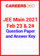 JEE Main 2021 Feb 23 & 24 Question Paper and Answer Key