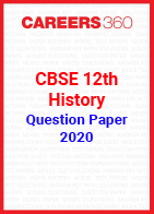 CBSE 12th History Question Papers 2020