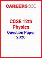 CBSE 12th Physics Question Papers 2020