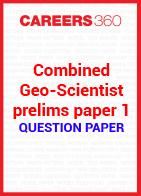 Combined Geo-Scientist prelims question paper 1