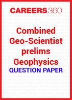 Combined Geo-Scientist prelims geophysics question paper