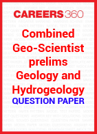 Combined Geo-Scientist prelims geology and hydrogeology question paper