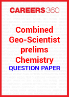 Combined Geo-Scientist prelims chemistry question paper