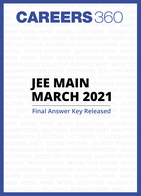 JEE Main March 2021 final answer key released