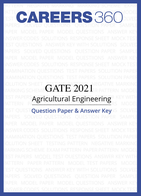 GATE 2021 Agricultural Engineering Question Paper & Answer Key