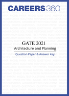 GATE 2021 Architecture and Planning Question Paper & Answer Key