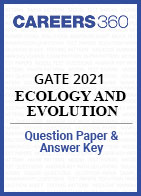 GATE 2021 Ecology and Evolution Question Paper & Answer Key