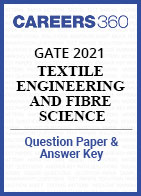 GATE 2021 Textile Engineering and Fibre Science Question Paper & Answer Key