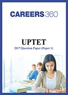 UPTET 2017 Paper 1 question paper
