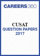 CUSAT Question Papers 2017