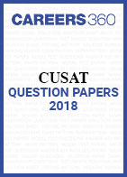 CUSAT Question Papers 2018