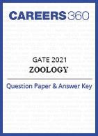 GATE 2021 Zoology Question Paper & Answer Key