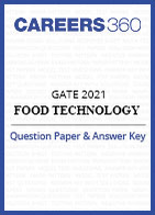 GATE Food Technology Question Paper & Answer Key 2021