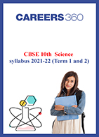 CBSE 10th Science syllabus 2021-22 (Term 1 and 2)
