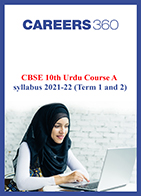 CBSE 10th Urdu Course A syllabus 2021-22 (Term 1 and 2)