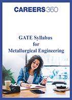 GATE Syllabus for Metallurgical Engineering