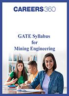 GATE Syllabus for Mining Engineering