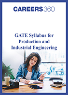 GATE Syllabus for Production and Industrial Engineering