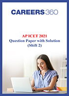 AP ICET 2021 Question Paper with Solution (Shift 2)
