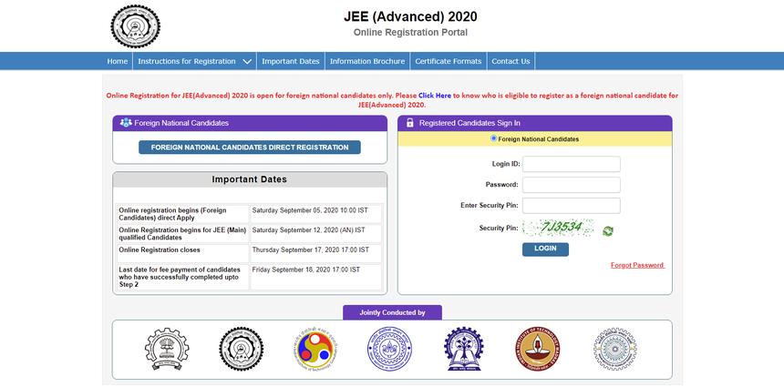 JEE-advanced-registration
