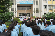 Neiil World School-Campus-View With Celebration